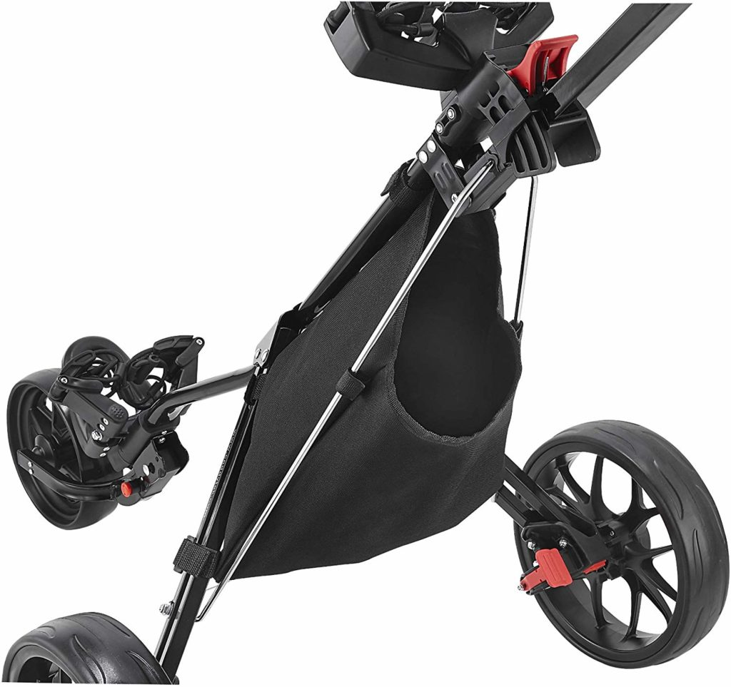 CaddyTek CaddyLite Deluxe Golf Push Cart
