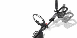 CaddyTek CaddyLite Deluxe Golf Push Cart Review 5
